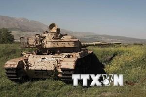 Israel bắn vào một vị trí quân sự của phong trào Hamas