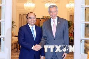 Chuyến thăm Singapore của Thủ tướng thành công trên nhiều phương diện