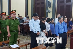 Tuyên án đối với nguyên Chủ tịch Hội đồng Quản trị Ngân hàng Đại Tín
