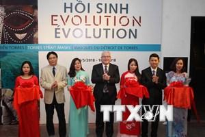 Lần đầu tiên mặt nạ vùng Eo biển Torres đến với công chúng Việt Nam
