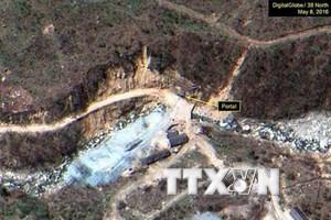 Triều Tiên xây dựng đài quan sát gì gần bãi thử hạt nhân Punggye-ri?