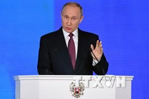 Tổng thống Nga Vladimir Putin kêu gọi EU dỡ bỏ trừng phạt