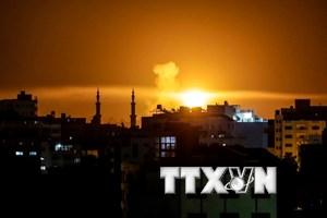 Israel không kích các mục tiêu của phong trào Hamas ở Dải Gaza