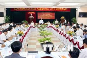 Đẩy mạnh việc học tập, làm theo tấm gương đạo đức Hồ Chí Minh