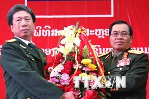 Lào tổ chức kỷ niệm 70 năm Ngày thành lập Quân đội Nhân dân
