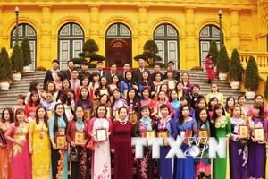 Phụ nữ Việt Nam phát huy truyền thống của Hai Bà Trưng
