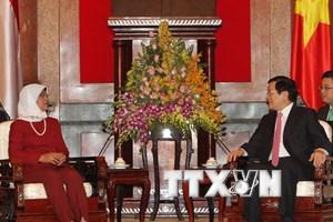 Việt Nam đánh giá cao vai trò quan trọng của Singapore