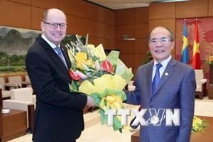 Chủ tịch Quốc hội Thụy Điển kết thúc thăm chính thức Việt Nam