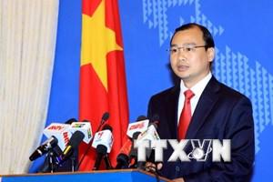 Việt Nam theo dõi sát hoạt động của giàn khoan Hải Dương-981
