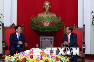 Không ngừng đưa quan hệ Việt-Trung phát triển lành mạnh, bền vững