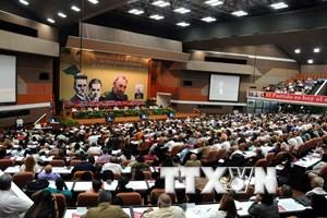 Điện mừng Đại hội toàn quốc lần thứ VII Đảng Cộng sản Cuba