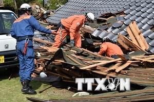 Hàn Quốc gửi hàng cứu trợ giúp nạn nhân động đất ở Nhật Bản
