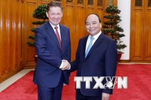 Việt Nam luôn mong muốn thúc đẩy hợp tác năng lượng với Nga