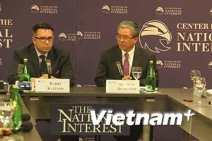 Đại sứ Phạm Quang Vinh: Việt-Mỹ còn nhiều tiềm năng phát triển