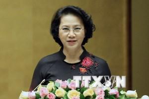 Chủ tịch Quốc hội phát biểu bế mạc Kỳ họp thứ 2 Quốc hội khóa XIV