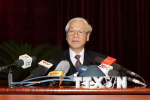 Bài phát biểu của Tổng Bí thư ở hội nghị kiểm tra, giám sát Đảng