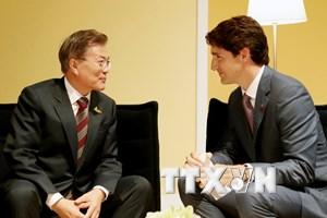 Hội nghị G20: Hàn Quốc thúc đẩy hợp tác với nhiều quốc gia