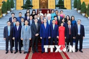 Chủ tịch nước tiếp các nhà tài trợ Tuần lễ Cấp cao APEC 2017
