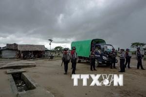 Myanmar siết chặt an ninh tại 10 điểm nhạy cảm ở bang Rakhine