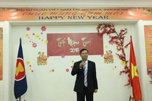 Cộng đồng người Việt Nam ở Indonesia đón xuân Mậu Tuất đầm ấm, an vui