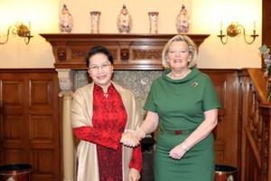 Hợp tác giữa Quốc hội Việt Nam và Nghị viện Hà Lan phát triển tốt đẹp