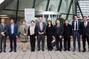 Chủ tịch Quốc hội Nguyễn Thị Kim Ngân thăm Công ty NACO tại Hà Lan