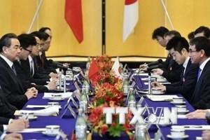 Nhật Bản và Trung Quốc nối lại đối thoại kinh tế cấp cao