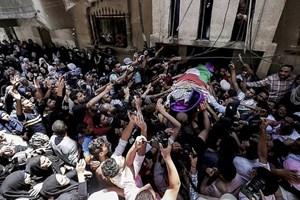 Hàng nghìn người Palestine dự lễ tang nhân viên y tế trúng đạn Israel