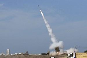 Hệ thống Vòm Sắt của Israel đánh chặn tên lửa phóng từ Dải Gaza