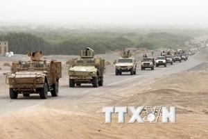 Yemen: Liên quân Saudi Arabia tấn công phiến quân bên ngoài Hodeida
