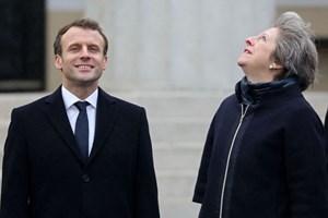 Trọng tâm của cuộc gặp giữa Tổng thống Pháp và Thủ tướng Anh