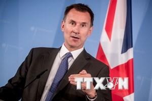 Ngoại trưởng Anh bắt đầu công du 4 nước châu Âu để thảo luận về Brexit