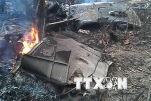 16 chiến sỹ đã hy sinh trong vụ rơi máy bay trực thăng Mi171