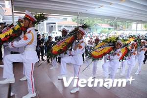 [Video] Trọng thể lễ viếng 9 quân nhân phi hành đoàn CASA-212