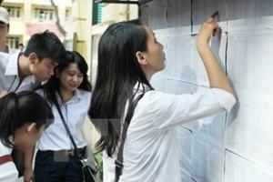 Hàng chục trường đại học công bố điểm chuẩn xét tuyển đợt một