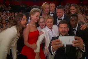 Ảnh selfie của các sao ở lễ trao giải Oscar lập kỷ lục