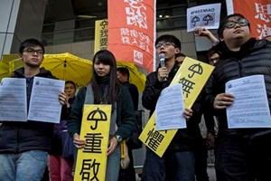 Thủ lĩnh biểu tình Hong Kong bị cảnh sát truy tố