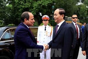 Toàn cảnh chuyến thăm Việt Nam của Tổng thống Ai Cập Fattah El-Sisi