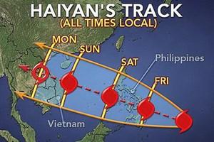 Các tỉnh ven biển cần chủ động đối phó siêu bão Haiyan