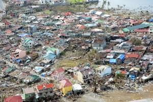 Philippines gửi thông điệp cảm ơn thế giới sau bão Haiyan