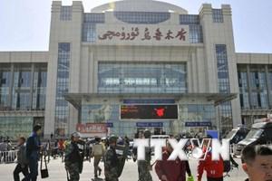 Trung Quốc kết án tù 39 đối tượng khủng bố ở Tân Cương