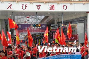 Người Việt tại Hiroshima tuần hành phản đối Trung Quốc