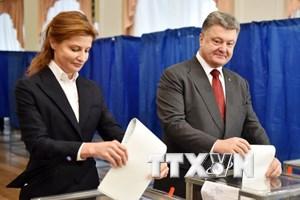 Ukraine hoàn tất quá trình bỏ phiếu trong cuộc bầu cử địa phương