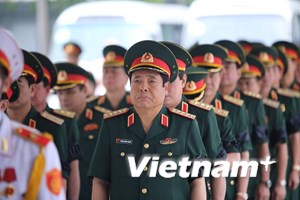 Lễ viếng, truy điệu 9 quân nhân phi hành đoàn CASA-212