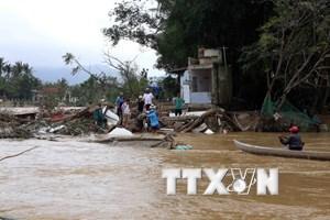 Mưa lũ làm 16 người chết, 2 người bị thương tại tỉnh Bình Định