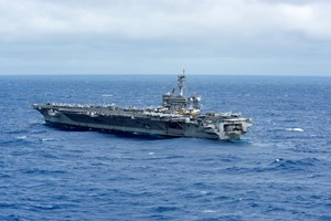 Trung Quốc phản đối tàu sân bay Mỹ tuần tra ở Biển Đông
