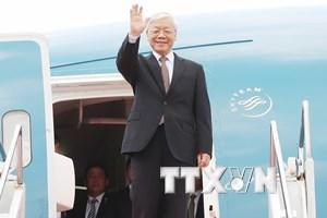 Tổng Bí thư kết thúc tốt đẹp chuyến thăm Indonesia và Myanmar