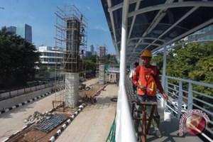 ASIAD 18: Dự án đường sắt chống ùn tắc ở Jakarta không kịp tiến độ