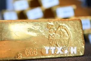 Giá vàng thế giới ở gần mức thấp nhất trong năm tuần