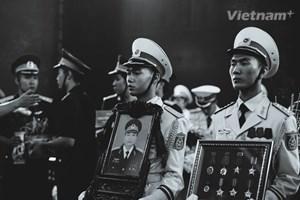 Những hình ảnh không thể quên về lễ tiễn đưa các anh hùng CASA-212